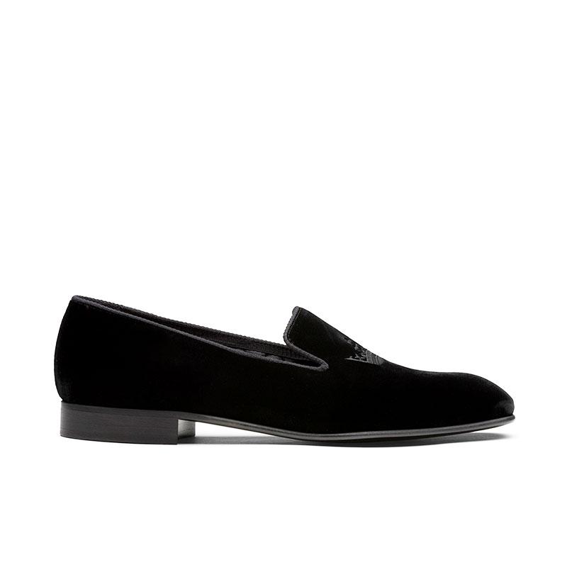 church's chaussures d'intérieur soverei llSOVEREI LL - VELOURS ET MOTIFS -