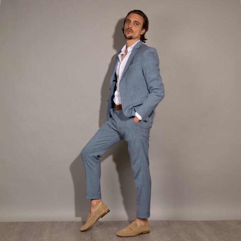 santoni mocassins et slippers MocassinsCARLOS 2 - NUBUCK - BEIGE