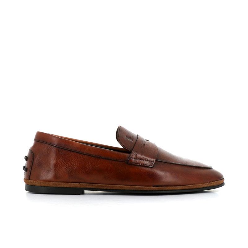 tod's mocassins et slippers Mocassins PantofolaTOD'S PANTOFOLA H - CUIR - GOLD