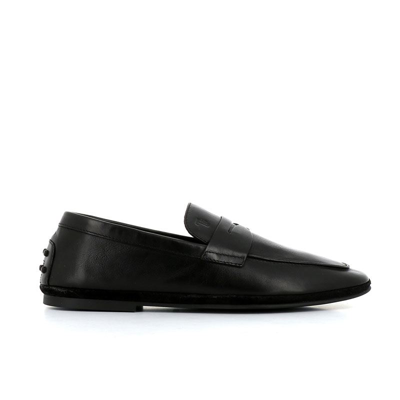 tod's mocassins et slippers Mocassins PantofolaTOD'S PANTOFOLA H - CUIR - NOIR
