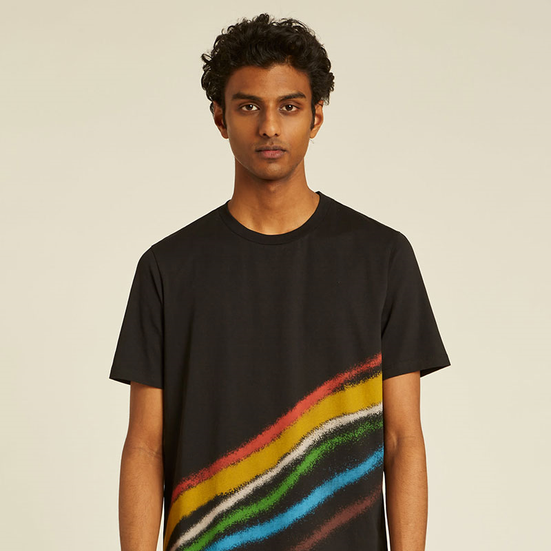 paul smith t-shirts & débardeurs T-shirtPSV T-SHIRT 697 - COTON ORGANIC
