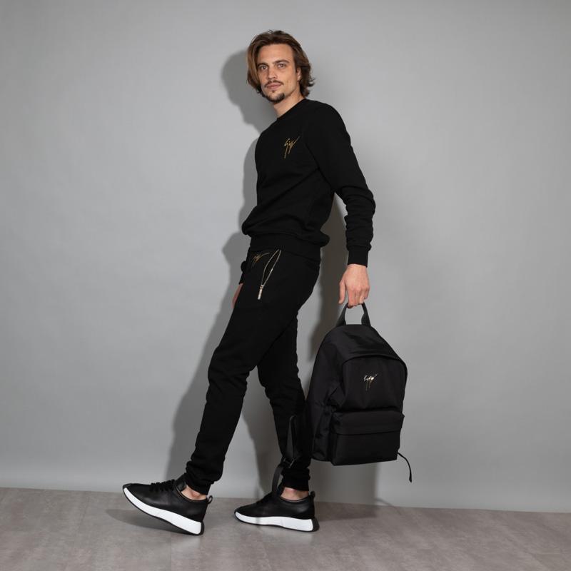 giuseppe zanotti sneakers Sneakers OmniaGZ H OMNIA - CUIR BICOLORE ET NU