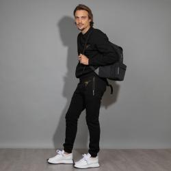 giuseppe zanotti sneakers Sneakers OmniaGZ H OMNIA - CUIR ET NUBUCK - BL