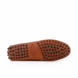 tod's mocassins & slippers Mocassins Gommino Double TTODTIE - CUIR - CACAO (2)