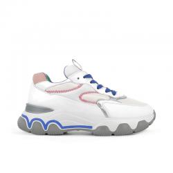 hogan sneakers Sneakers H549HF H549 - CUIR, NUBUCK ET TISSU