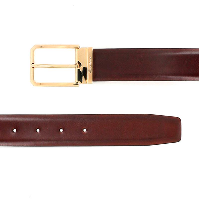 santoni ceintures Ceinture OneCEINTURI ONE (2) - CUIR - GOLD E