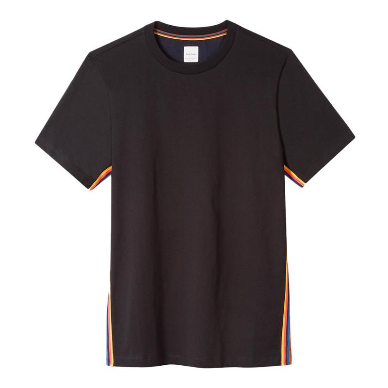 paul smith t-shirts & débardeurs T-shirtPSV T-SHIRT 697 - COTON - NOIR