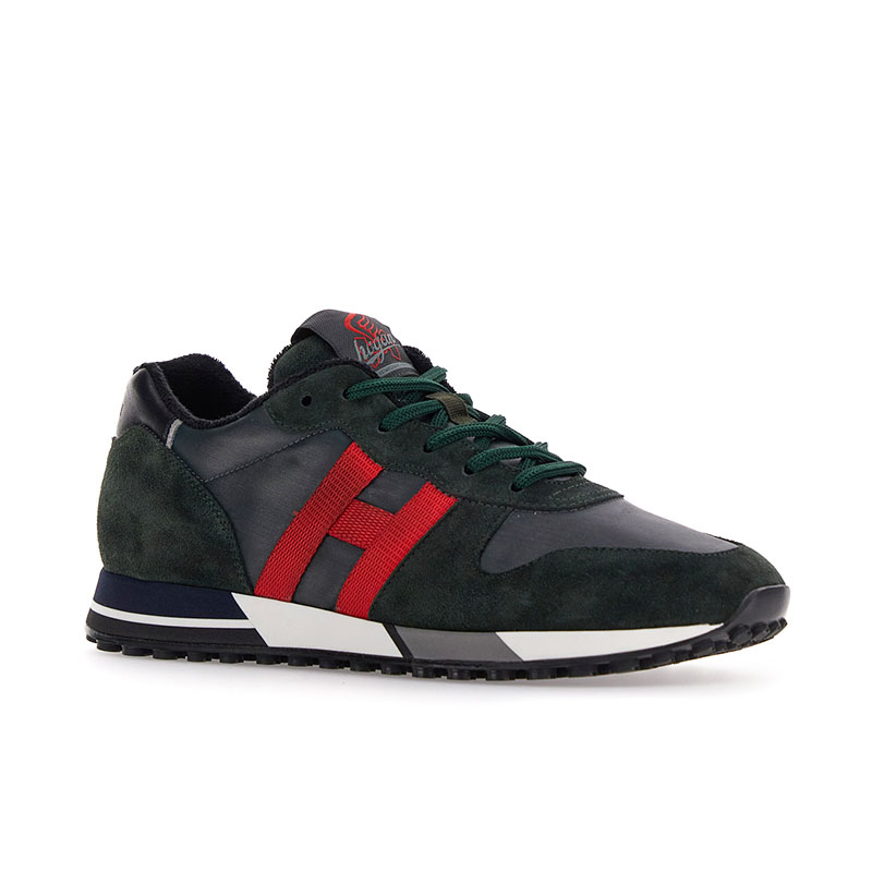 hogan sneakers Sneakers H383HH H383 (1) - NUBUCK ET DÉTAIL T
