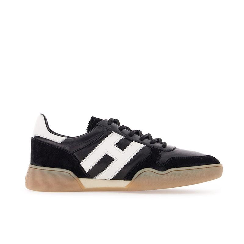 hogan sneakers Sneakers H357HH H357 - NUBUCK ET TOILE HUILÉE