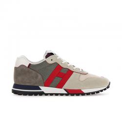 hogan sneakers Sneakers H383HH H383 (1) - NUBUCK ET TISSU TE