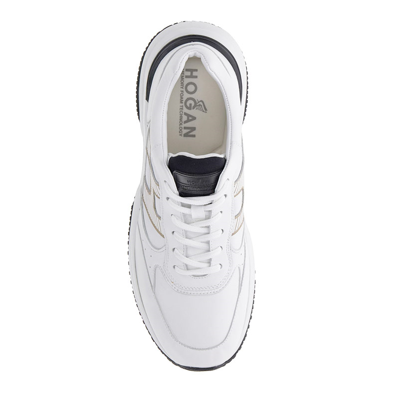 hogan sneakers Sneakers InteractionHH INTERACTION 2 - CUIR - BLANC