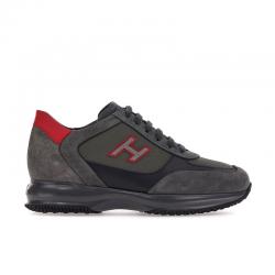 hogan sneakers Sneakers InteractiveHH INTERACTIVE - NUBUCK, TISSU T