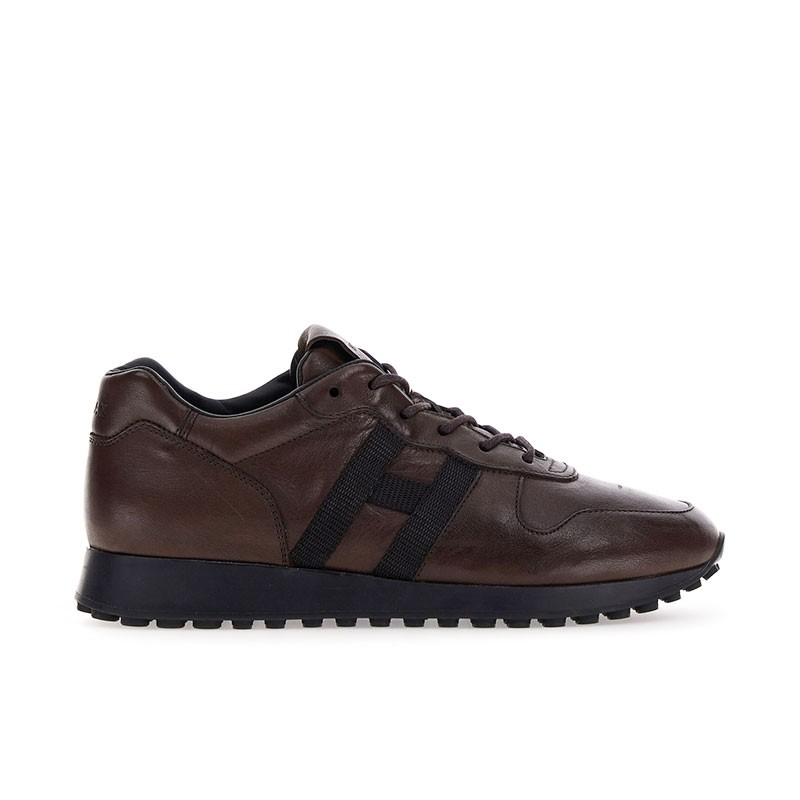 hogan sneakers Sneakers H383HH H383 (1) - CUIR - MARRON ET L