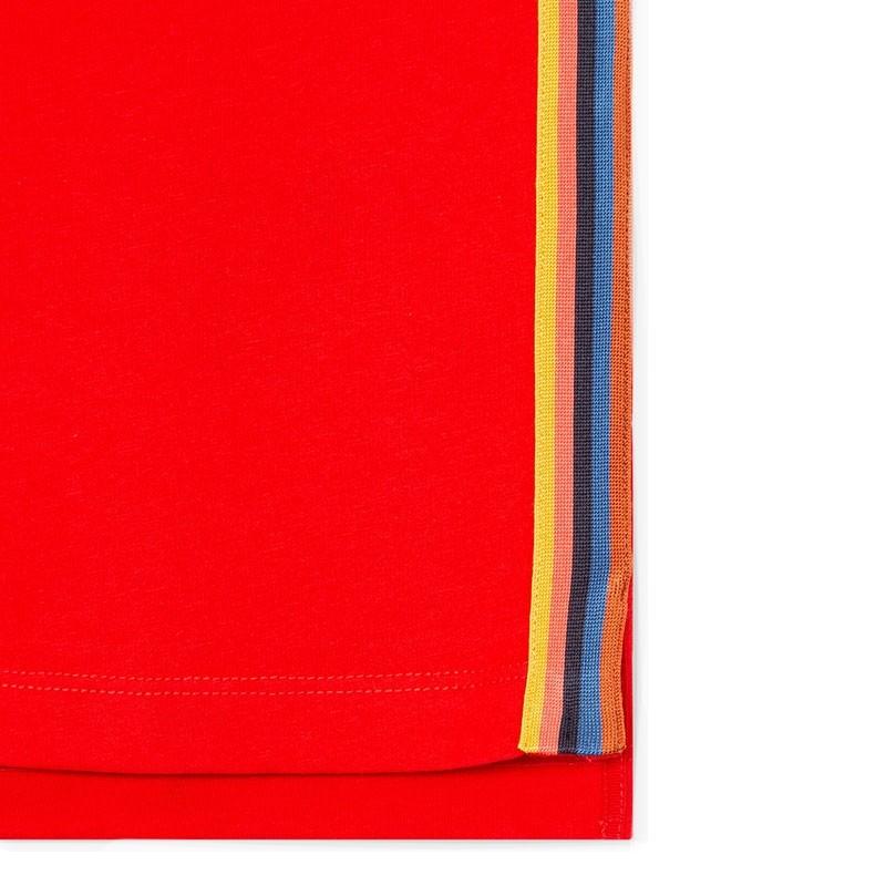 paul smith t-shirts & débardeurs T-shirtPSV T-SHIRT 697 - COTON - ROUGE