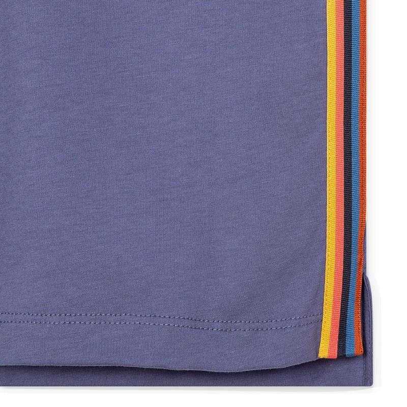 paul smith t-shirts & débardeurs T-shirtPSV T-SHIRT 697 - COTON - VIOLET