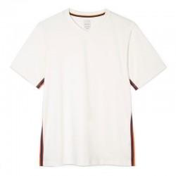 paul smith t-shirts & débardeurs T-shirt Col V 647PSV T-SHIRT 647 V - COTON ORGANI
