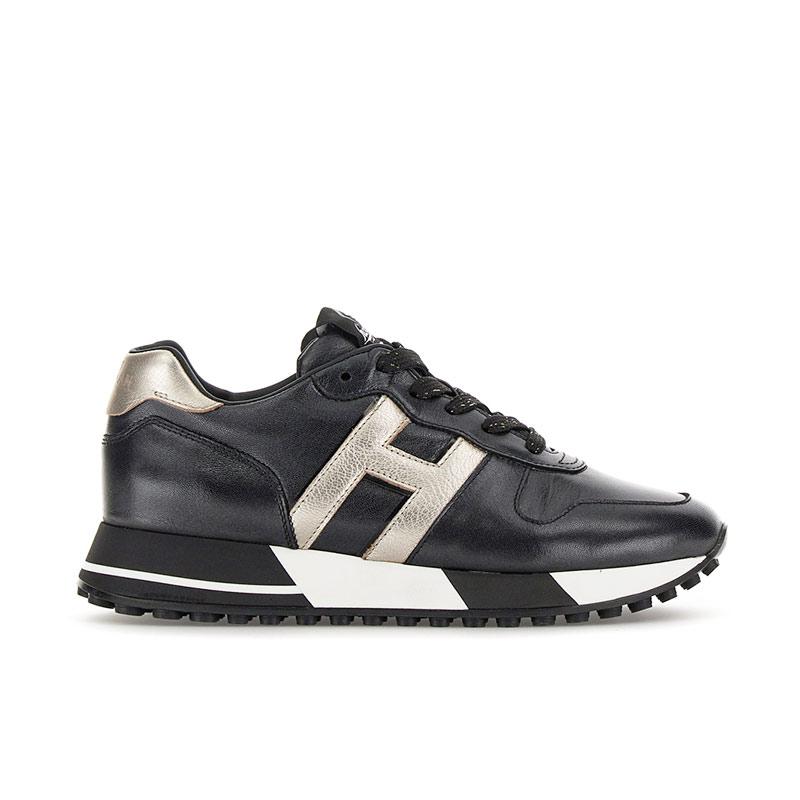 hogan sneakers sneakers h383SNEAKERS H383 - CUIR - NOIR ET L