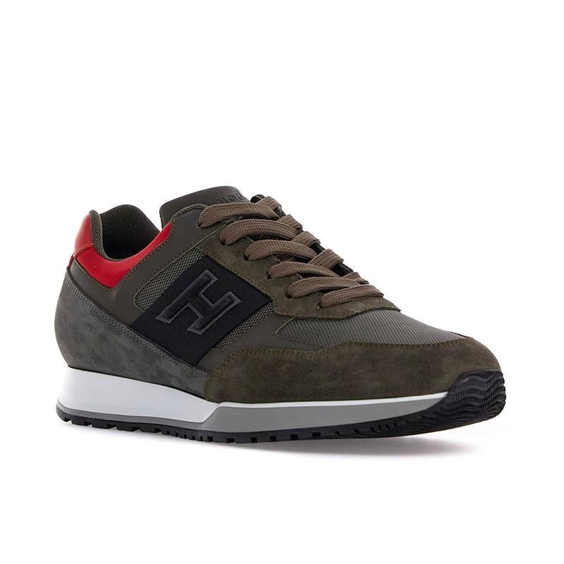 hogan sneakers Sneakers H321HH BASKETS H321 - NUBUCK ET TISS