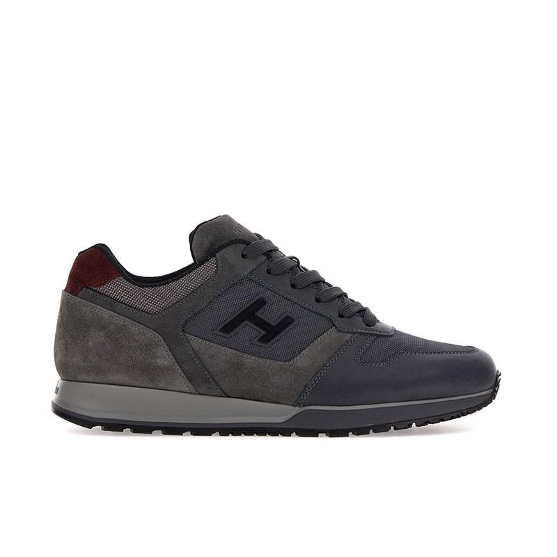 hogan sneakers Sneakers H321HH BASKETS H321 - CUIR, NUBUCK E