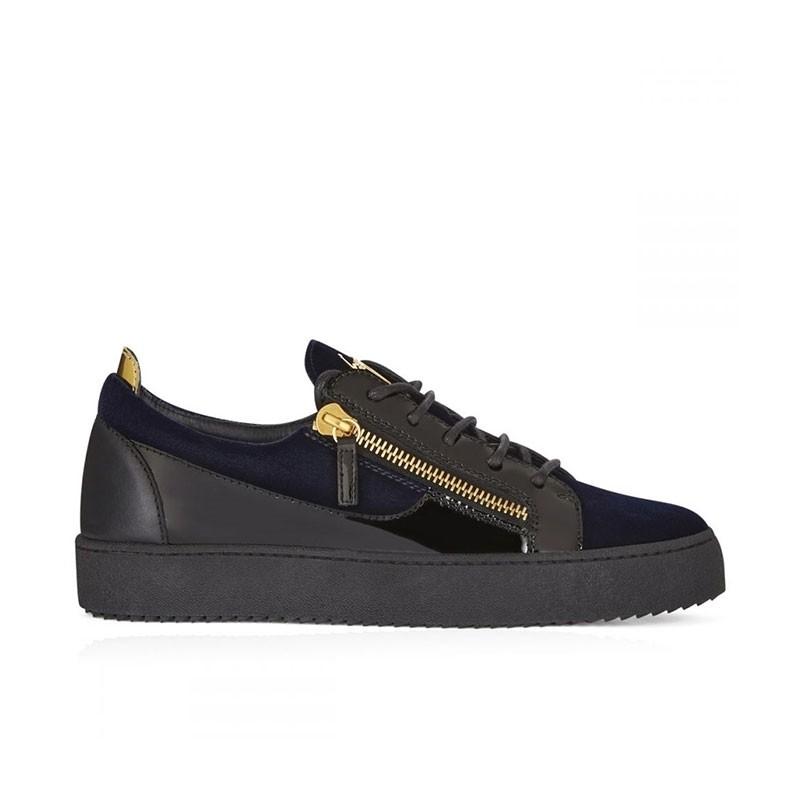 giuseppe zanotti sneakers Sneakers FrankieGZ H FRANKIE - CUIR ET VELOURS -