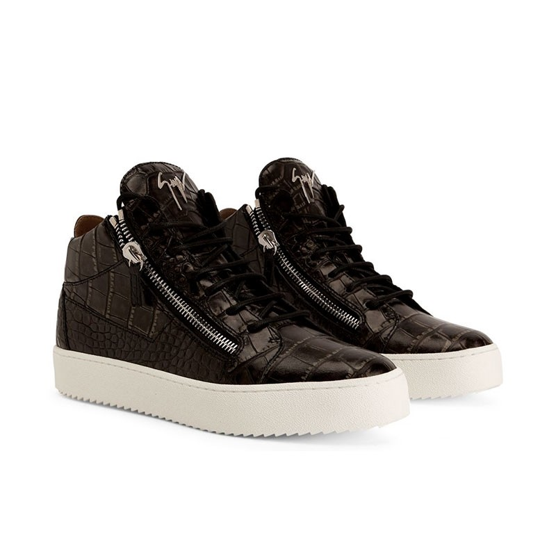 giuseppe zanotti sneakers Sneakers KrissGZ H KRISS - CUIR - NOIR