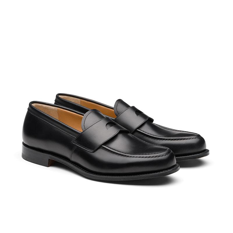 church's mocassins et slippers Mocassins DawleyDAWLEY - CUIR NATURAL CALF - BLA