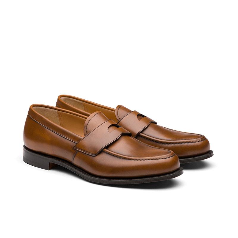 church's mocassins et slippers Mocassins dawleyDAWLEY - CUIR NATURAL CALF - WAL