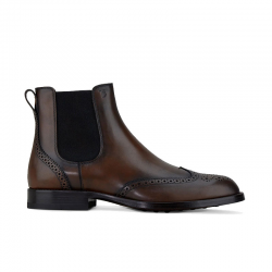 tod's boots et bottillons Boots Tod'sTOD'S BOOTS CUIR - CUIR - MARRON