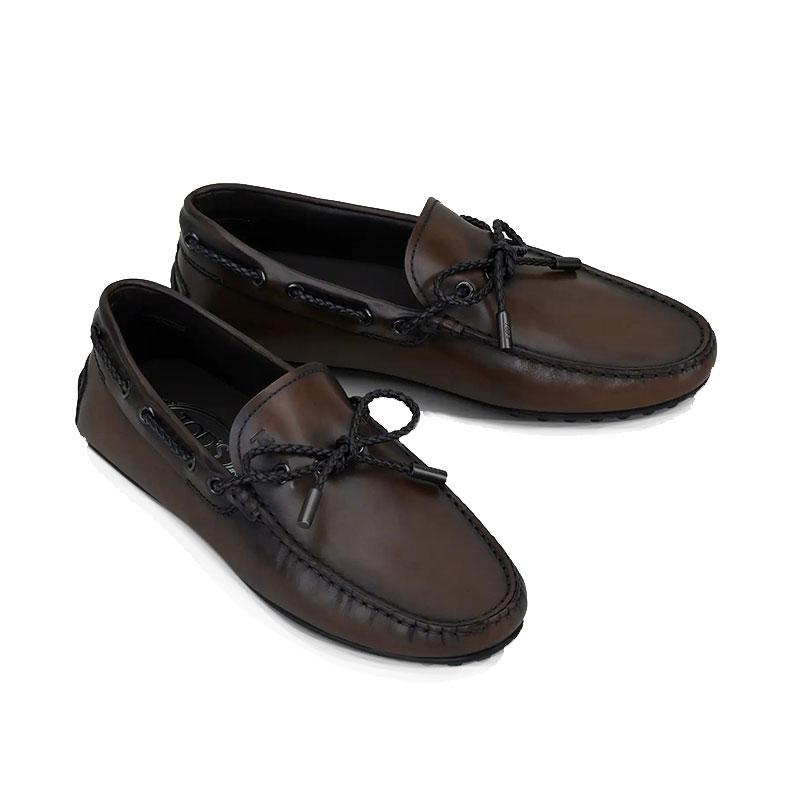 tod's mocassins et slippers Mocassins BabyloneBABYLONE 3 TRESSE - CUIR GLACÉ -