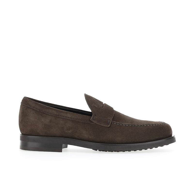 tod's mocassins et slippers Mocassins EmanoEMANO 3 - NUBUCK - MARRON