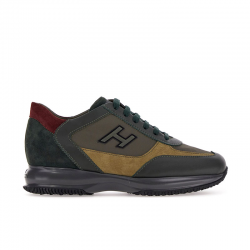 hogan sneakers Sneakers InteractiveHH INTERACTIVE - CUIR ET NUBUCK