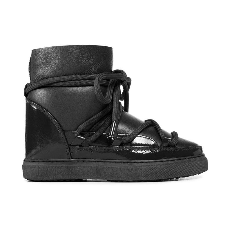 inuikii bottines Boots Inuikii FourréesINUIKII - CUIR ET CUIR VERNI, FO