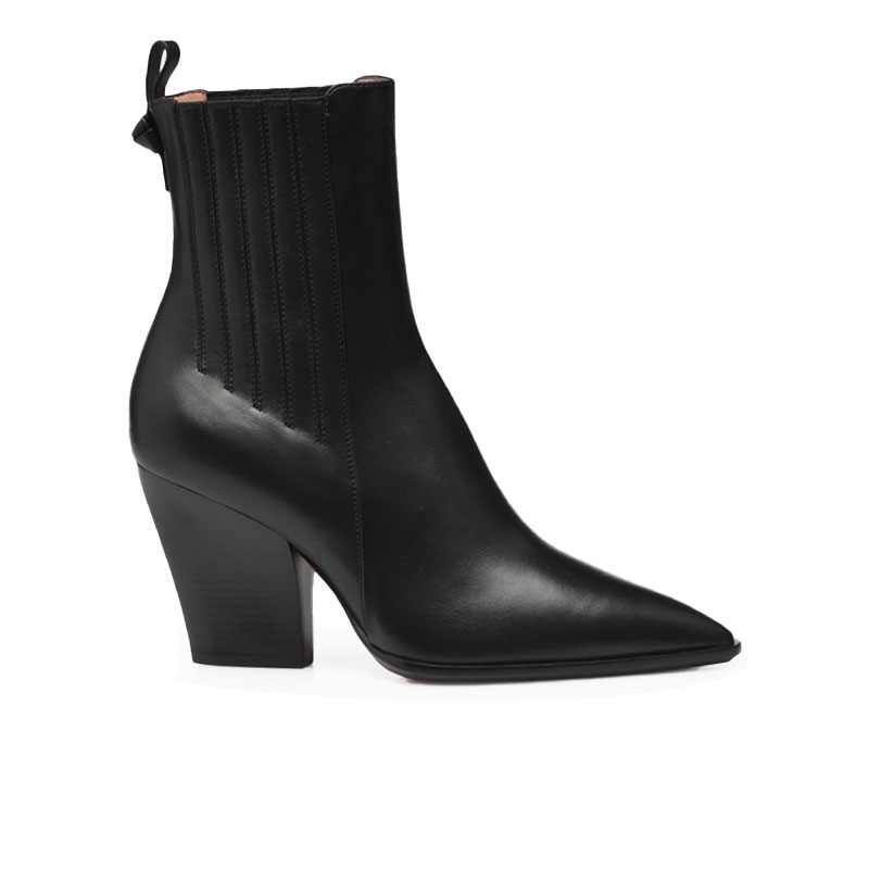 santoni bottines Boots FarragoFARRAGO 85 - CUIR - NOIR