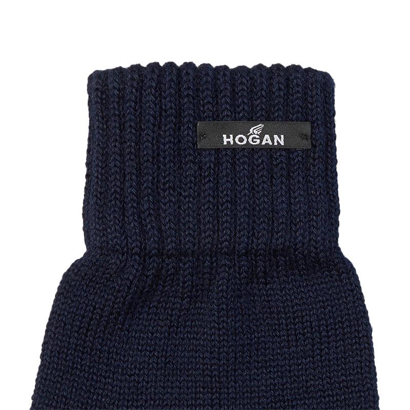 hogan gants et bonnets GantsHHA GANTS - LAINE - MARINE ET LO
