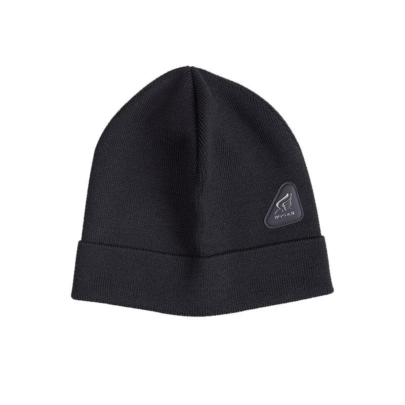 hogan gants et bonnets BonnetHHA BONNETS - LAINE - NOIR ET PA