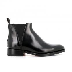 santoni boots et bottillons Bottines à élastiques CarterCARTER BOOTS - CUIR - NOIR