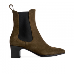 pierre hardy bottines Boots MelodyPHF BOOTS MELODY - SUEDE - KAKI