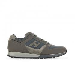hogan sneakers Sneakers H321HH BASKETS H321 - CUIR GOMMÉ ET