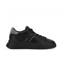 hogan sneakers Sneakers H580HH H580 - CUIR - NOIR ET DÉTAIL