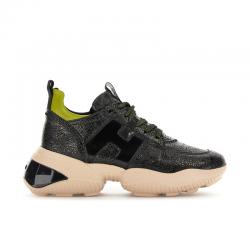 hogan sneakers Sneakers InteractionHF INTERACTION CAPS - CUIR CRAQU