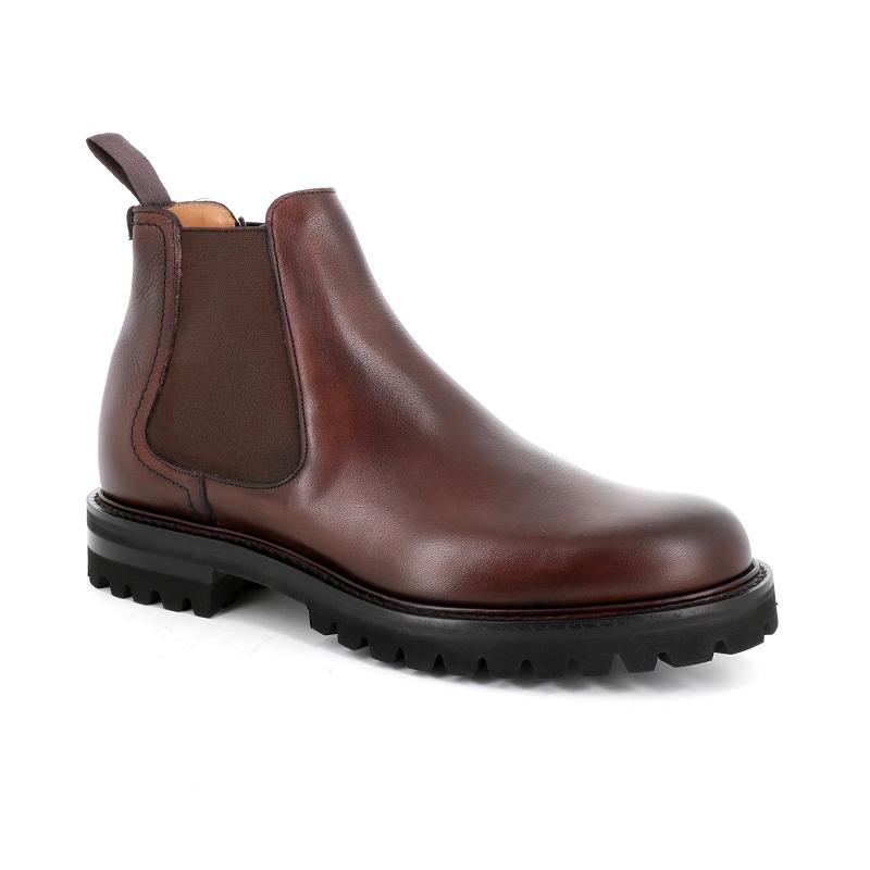 church's boots et bottillons Boots Cornwood 2CORNWOOD 2 - CUIR SOFT GRAIN CAL