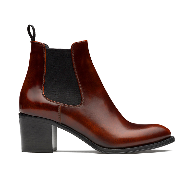 church's bottines boots shirleySHIRLEY 2 55 - CUIR POLISHED FUM