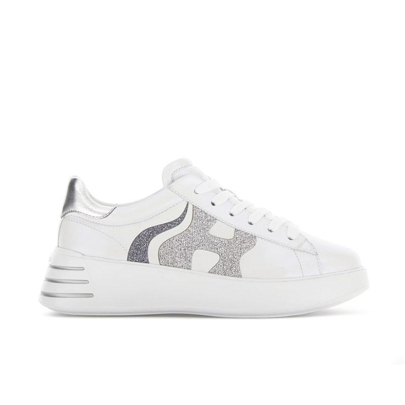hogan sneakers Sneakers H562HF H562 - CUIR - BLANC ET LOGO H