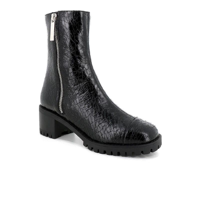 giuseppe zanotti bottines Boots CommandoGZ F BOOT ZIP CDO T4 - CUIR MART