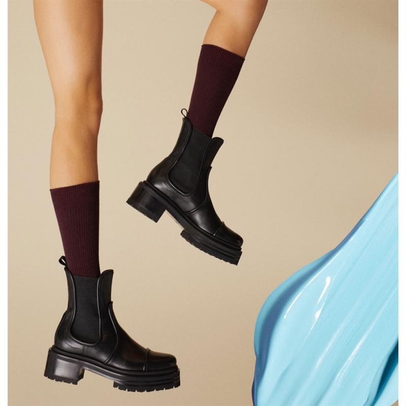 pierre hardy bottines Boots XanaduPHF BOOTS XANADU - CUIR - NOIR