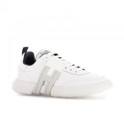 hogan sneakers Sneakers 3RHH HOGAN-3R - CUIR - BLANC ET IN