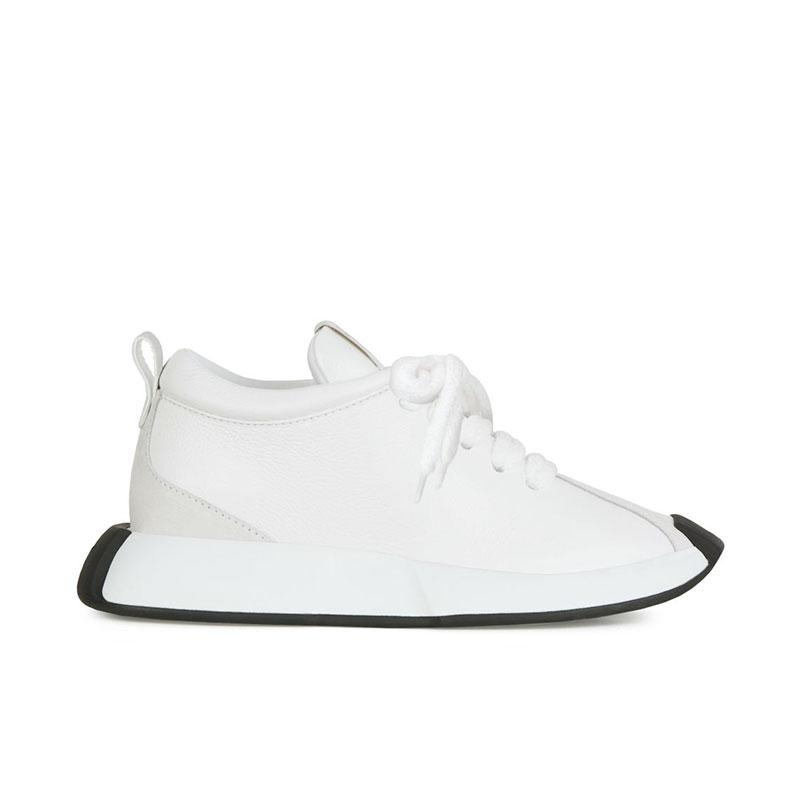 giuseppe zanotti sneakers Sneakers OmniaGZ F SNEAKER OMNIA - CUIR - BLAN