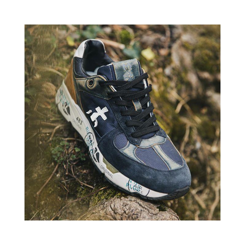 premiata sneakers Sneakers MasePREMIATA H MASE - CUIR, NUBUCK E