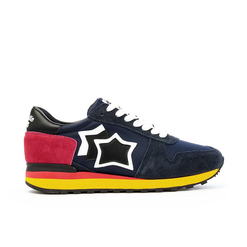 atlantic stars sneakers Sneakers ArgoAS ARGO - NUBUCK ET TOILE - MARI