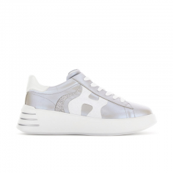 hogan sneakers Sneakers H562HF H562 - CUIR IRISÉ - ARGENT ET